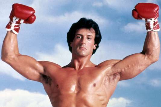 L'acteur Sylvester Stallone interprète le rôle de Rocky Balboa, dans«Rocky III : L'Œil du tigre».