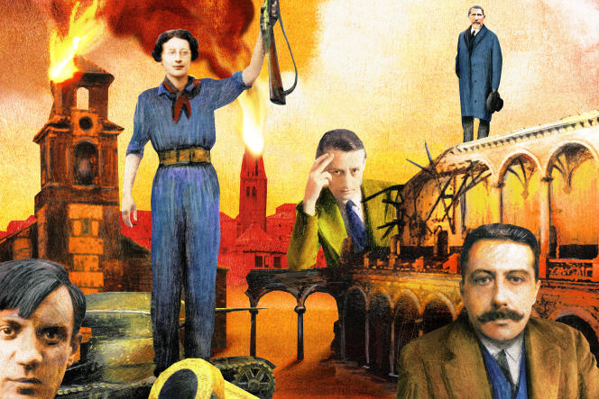 Picasso, Simone Weil, Malraux, Maurras, Bernanos.