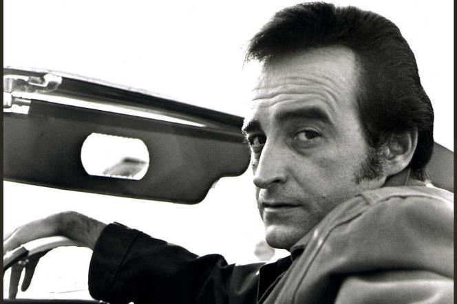 Dick Rivers, au Festival de Deauville, en 1982.