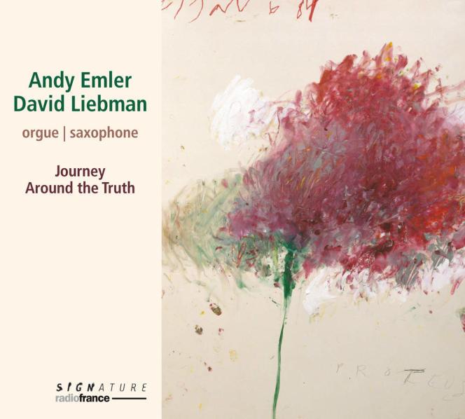 Pochette de l'album«Journey Around The Truth», d'Andy Emler et David Liebman.