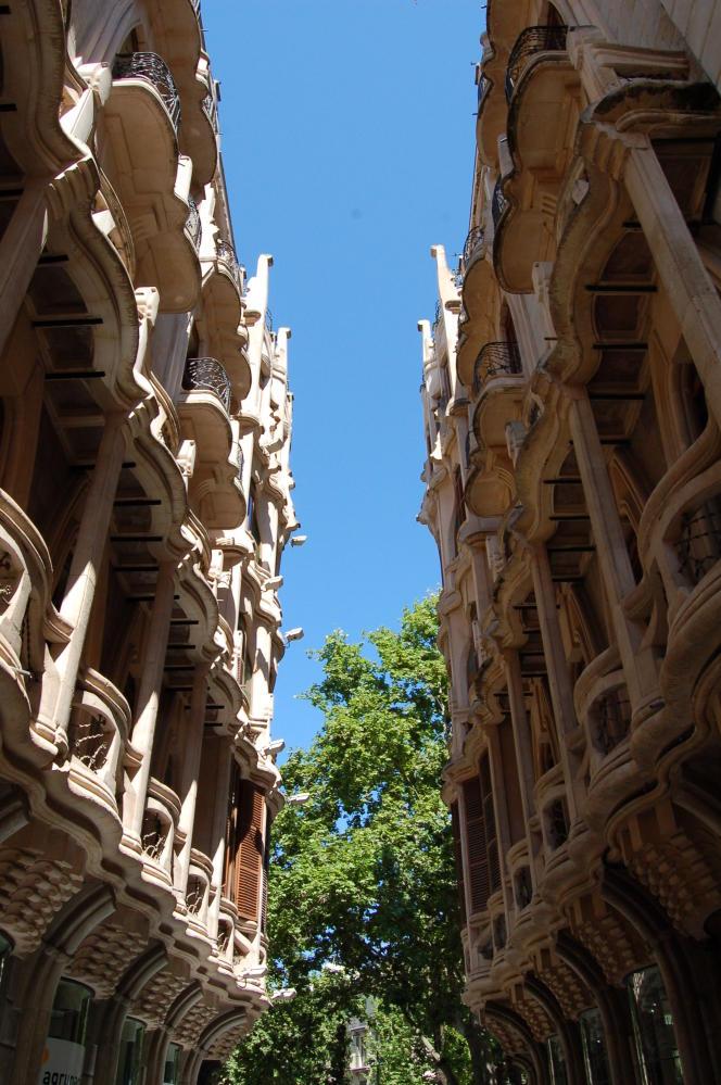Immeubles Art nouveau dans Palma.