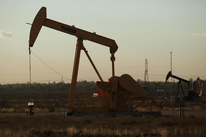 Dans la ville pétrolifère de Midland (Texas), dans le Bassin permien, en janvier 2016.