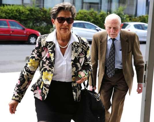 Les parents de Vincent Lambert lors de leur arivée à la cour d'appel de Reims,le 9 juin 2016.