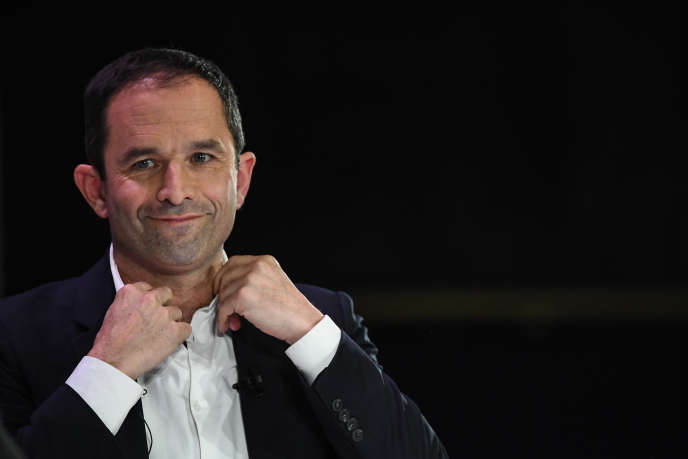 Benoît Hamon, le 11 avril à Paris.