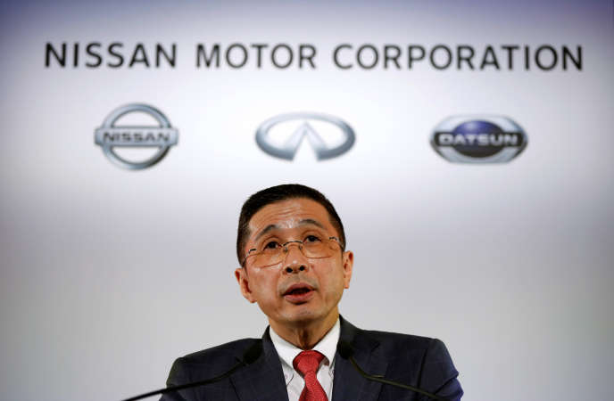 Le PDG de Nissan, Hiroto Saikawa, à Yokohama (Japon), en mai 2017.