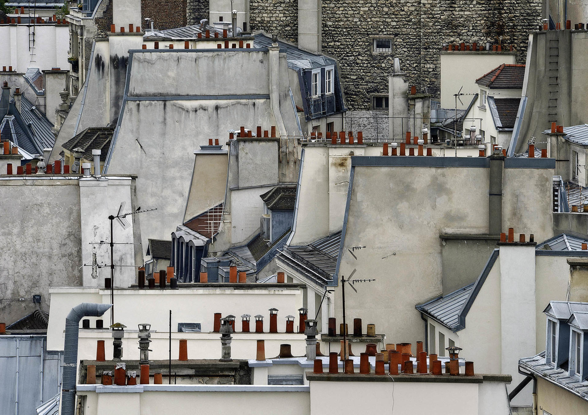 « Paris Rooftop #1 », 2014