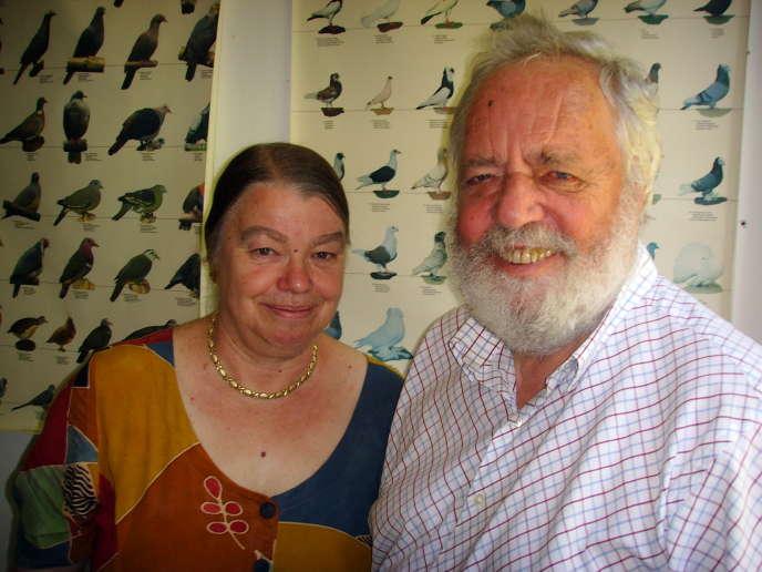 Wolfgang et Roswitha Wiltschko, en juin 2018.
