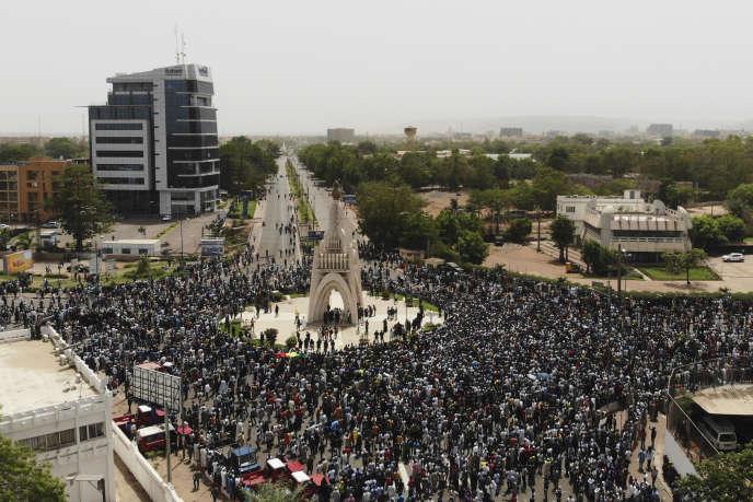 Manifestation à Bamako le 5 avril 2019.