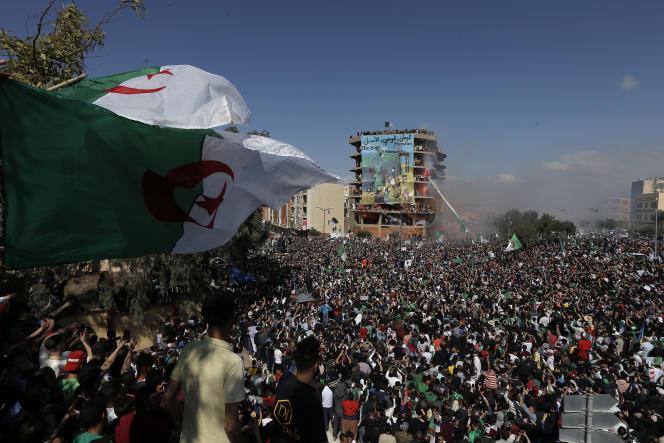 Manifestation à Alger, vendredi 26 avril.