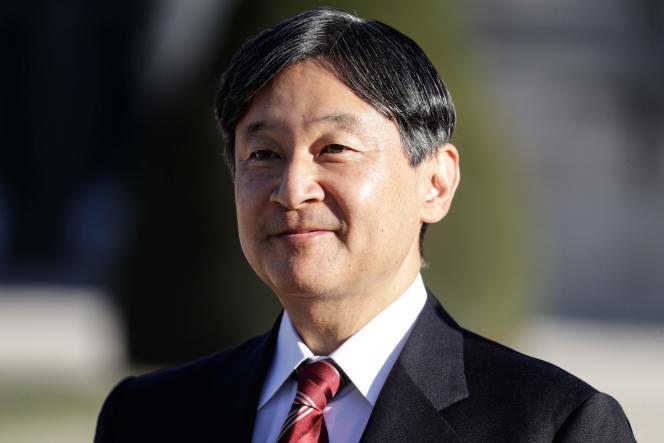 Le 11 septembre 2018, le prince héritier japonais Naruhito lors de sa visite à Paris.