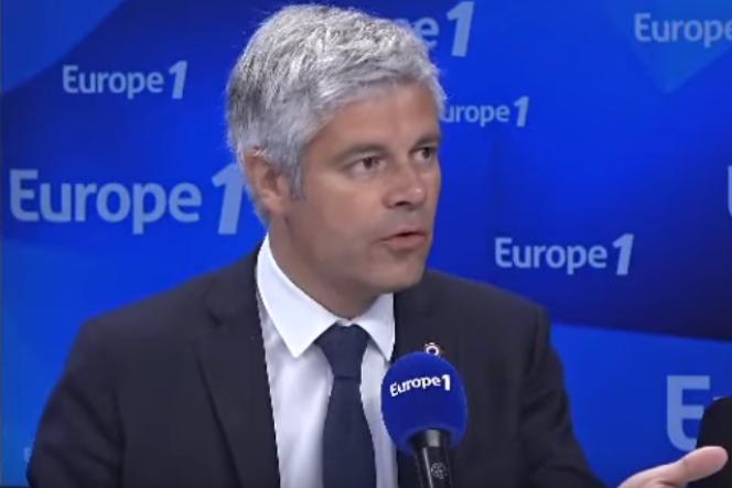 Laurent Wauquiez, patron des Républicains sur Europe 1, vendredi 26 avril 2019.