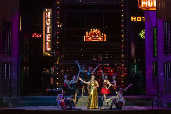 Amina Edrisdans « Manon », de Massenet, mise en scène par Olivier Py à l'Opéra de Bordeaux.