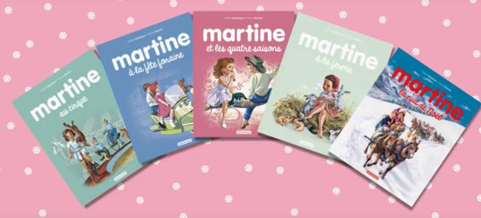 Des dessins originaux des aventures de«Martine» ont été vendus à des prix bien supérieurs aux attentes, le 27 avril.