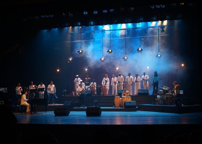 «Jazz con guaganco», le 19 janvier 2019 au festival Jazz Plaza (La Havane).