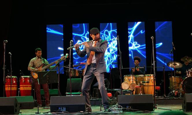 «La flûte enchantée», le 19 janvier 2019 au festival Jazz Plaza (La Havane).