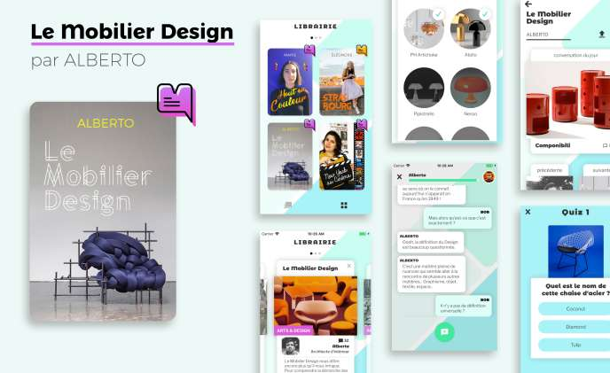 Le mobilier design, conversation avec Alberto sur Minitopo