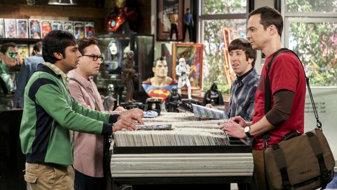 « The Big Bang Theory» met en scène une bande d'amis geeks.