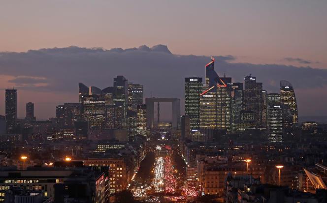 Paris, quartier de La Défense