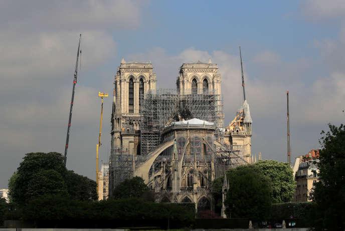 Notre-Dame de Paris, lundi 29 avril.