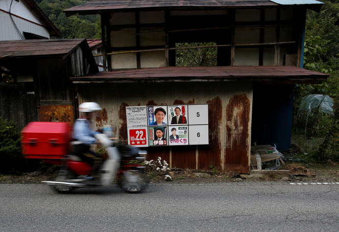 Dans le village de Nanmoku, au nord-ouest de Tokyo, en octobre 2017.