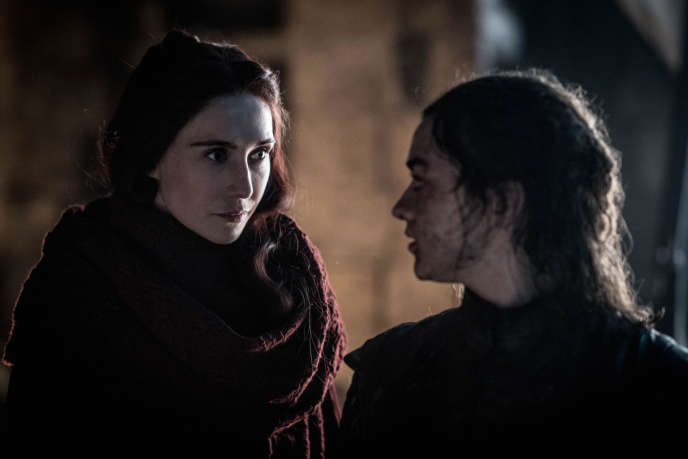 Extrait de l'épisode« The Long Night» de «Game of Thrones».