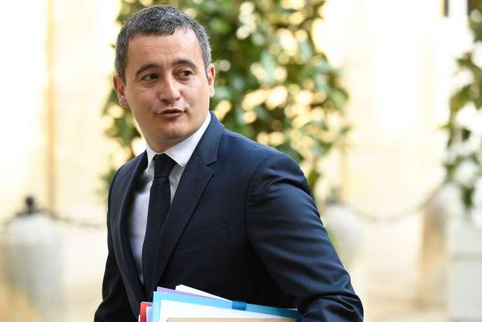 Le ministre des comptes publics, Gérald Darmanin, le 29 avril.