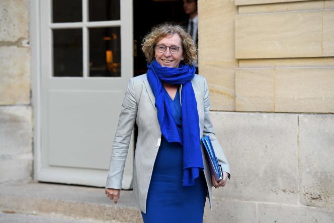 L'ancienne ministre du travail, Muriel Pénicaud, à Matignon, en avril 2019.