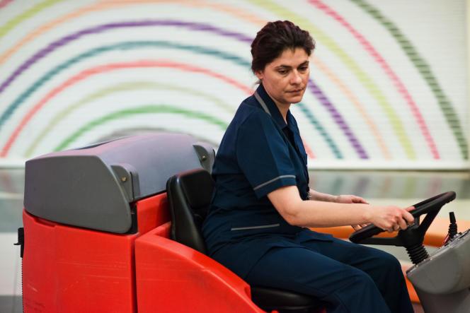 Marisha Triantafyllidou interprètePanayiota dans« Her Job», deNikos Labôt