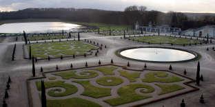 Les jardins du château de Versailles, en 2007.