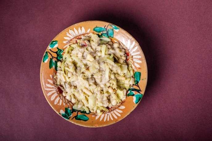 La kapusta i groch (« chou et haricot ») est une recette polonaise