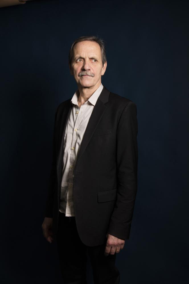 L'écrivain et éditeur Jean-Marie Laclavetine, à Paris, le 13 février 2019.