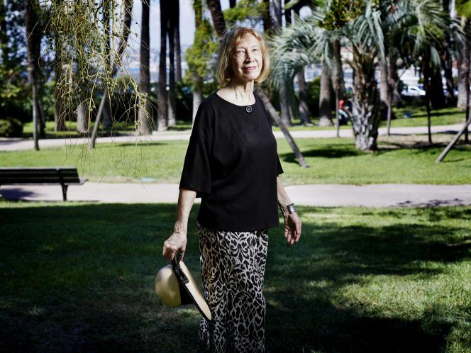 L'écrivaine et historienne Chantal Thomas, à Paris, en 2017.