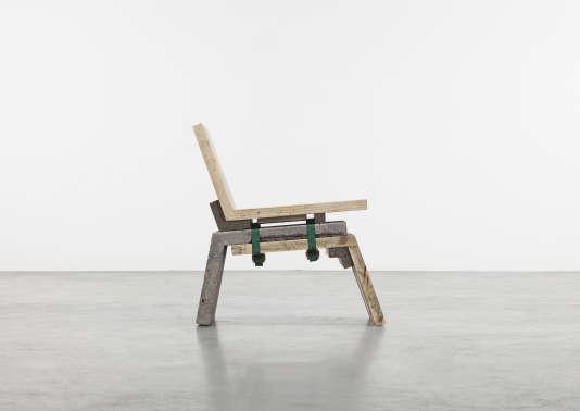 Le Mould Chair de Martin Laforêt.