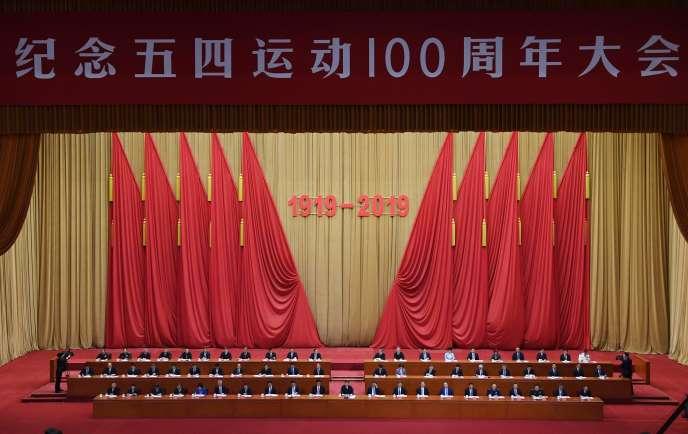 Le 30 avril, à Pékin.