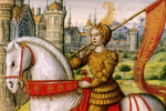 Jeanne d'Arc, illustration de 1504.