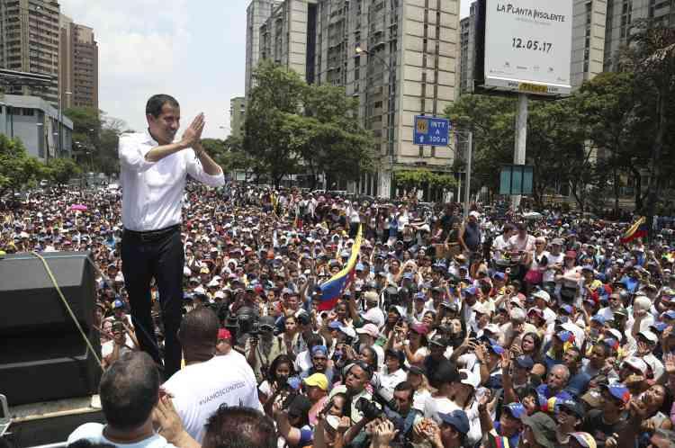 Si les habitants de Caracas sont sortis en masse en soutien à M. Guaido, ce dernier ne semble pas avoir réussi son pari de faire de cette journée du 1er-Mai la «plus grande manifestation de l'histoire du Venezuela».