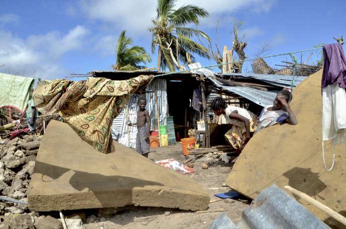 Sur l'île d'Ibo, au large du Mozambique, le 1er mai 2019.