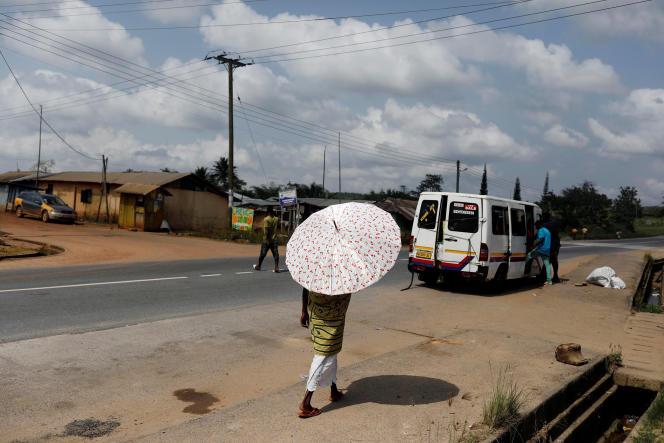 A Takoradi, au Ghana, en novembre 2018.