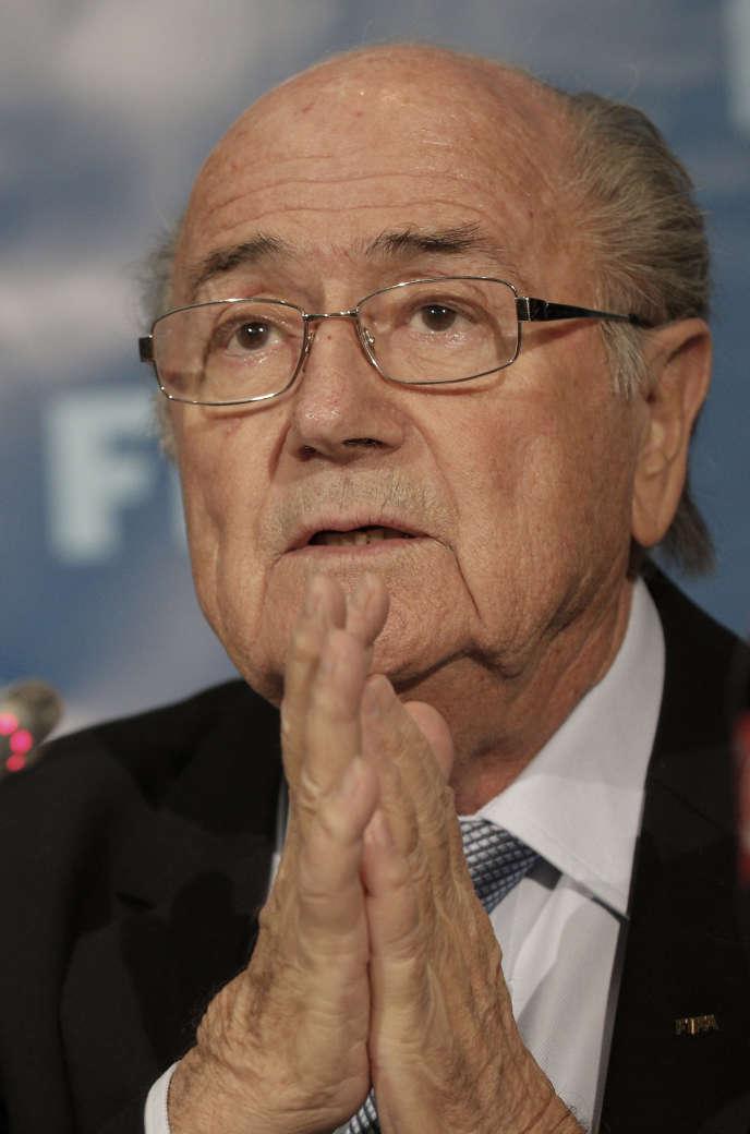 Sepp Blatter, en décembre 2014.