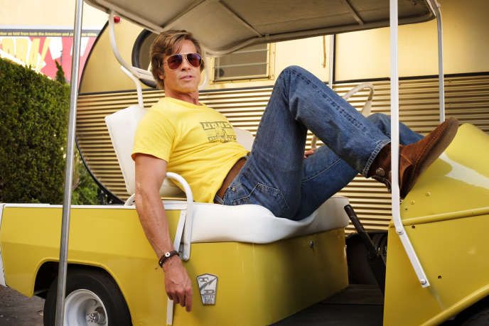 Brad Pitt dans «Once Upon a Time in Hollywood», de Quentin Tarantino.