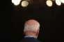 L'ancien vice-président américain Joe Biden, candidat démocrate à l'investiture pour l'élection présidentielle, le 1er mai, à Des Moines (Iowa).