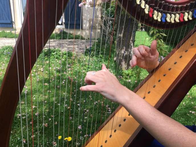 La harpiste Marion Le Solliec est une star sur Youtube.