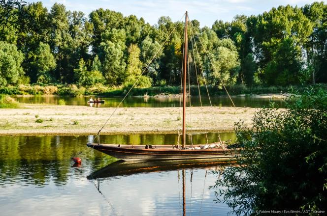 Le Bachie, un des bateaux école de La Rabouileuse.