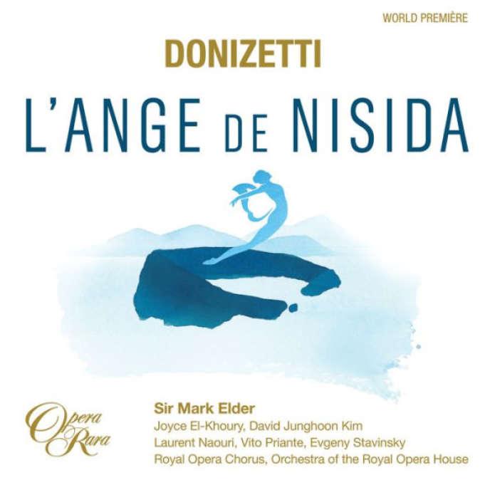 Pochette de l'album«L'Ange de Nisida», de Donizetti.