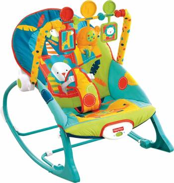 Jusqu'à 18 kg Le transat évolutif Fisher-Price Amis de la jungle