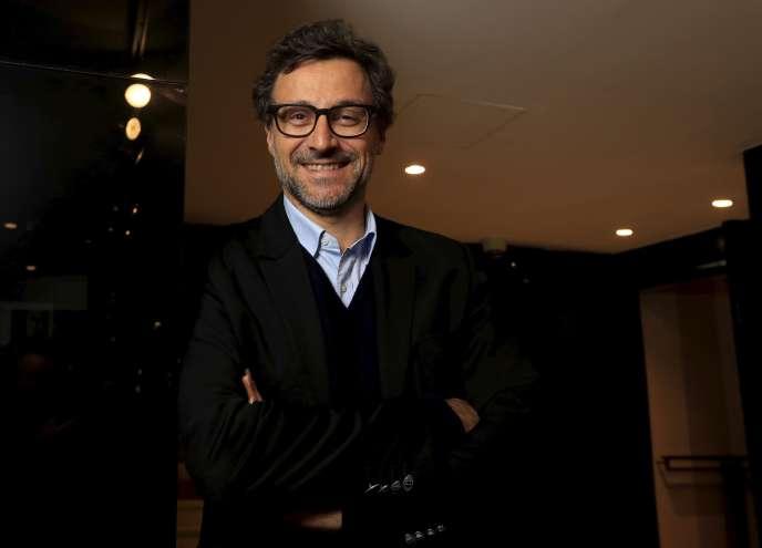 Emery Jacquillat, le patron de la Camif, à Paris, le 15 novembre 2016.