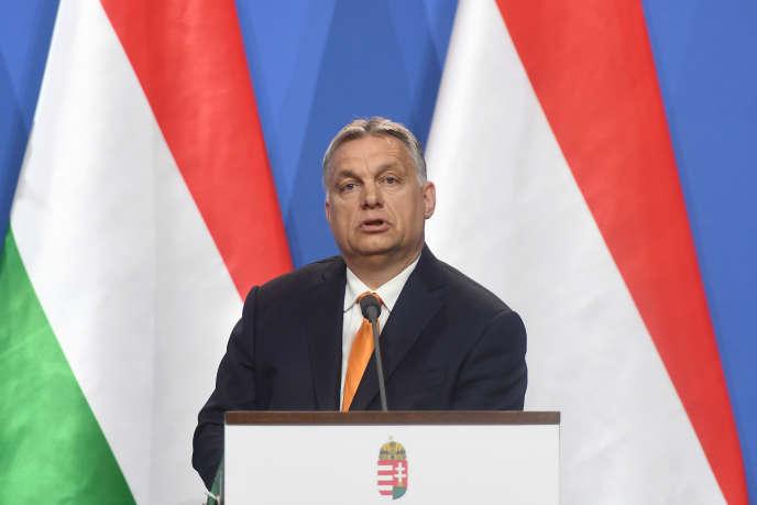 Le premier ministre hongrois, Viktor Orban, à Budapest, le 2 mai.