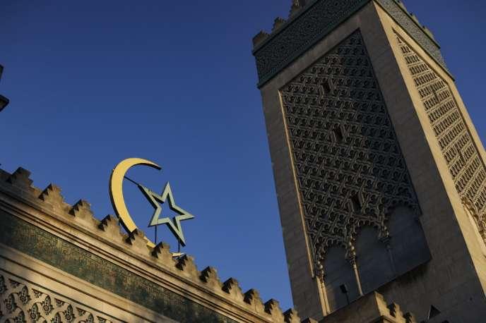 L'entrée de la grande mosquée de Paris, le 22 mars.
