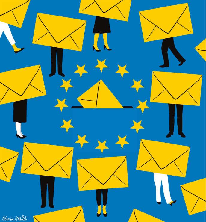 Trente-trois listes ont été enregistrées - un record - pour les élections européennes qui auront lieu le dimanche 26mai en France.