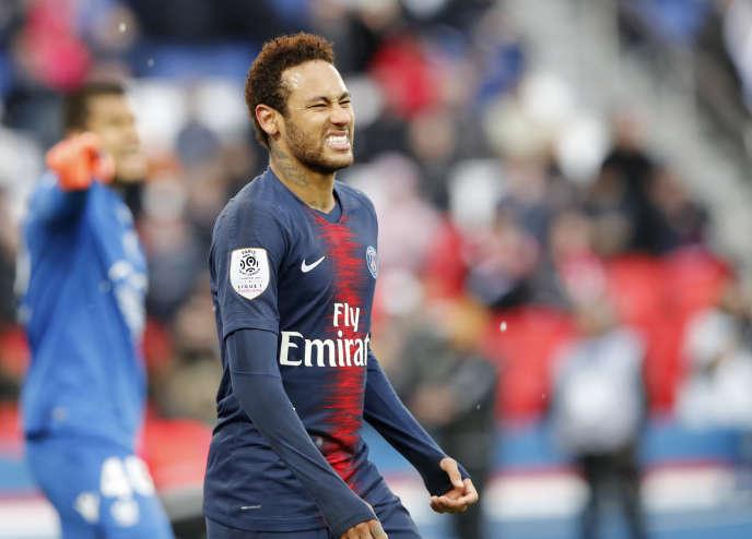 Neymar a marqué, mais le PSG a concédé le match nul.